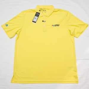 ADIDAS NBC GOLF active polo shirt bright Yellow